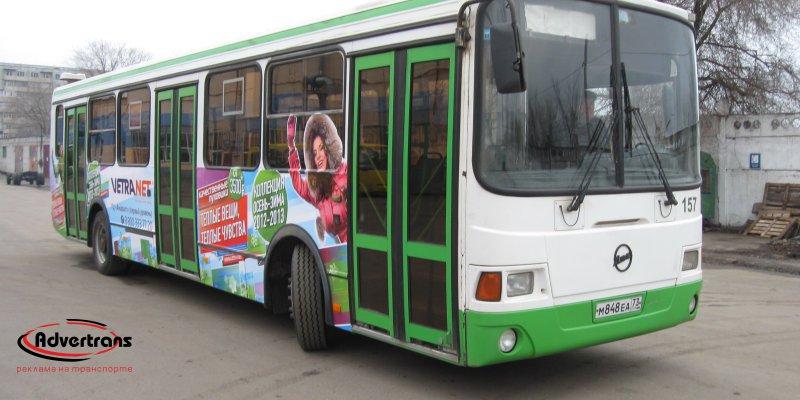Реклама на автобусах в Ижевске
